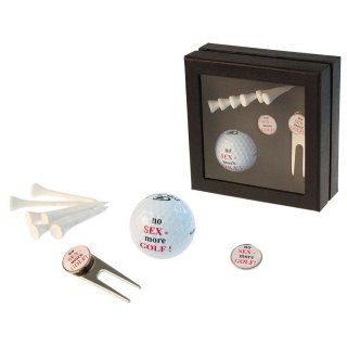 Golf-Geschenkbox NO SEX - MORE GOLF